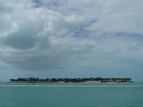 From the port on Key West